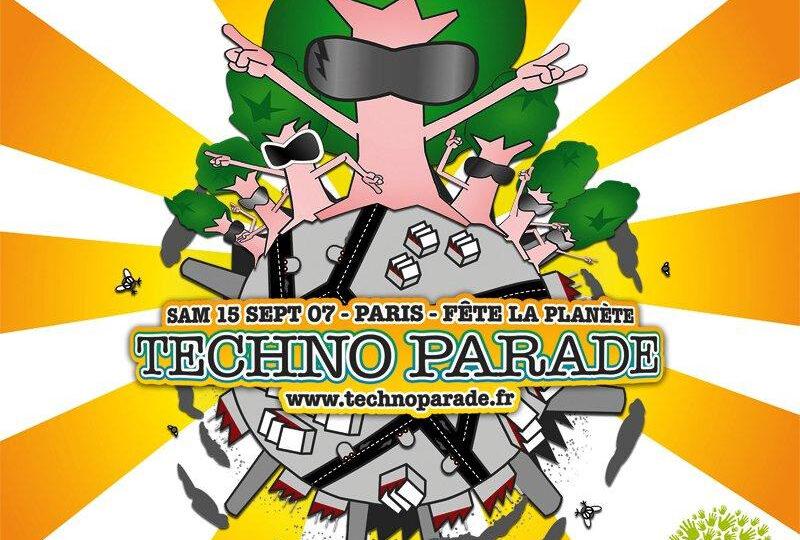 Techno Parade 2007 affiche