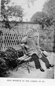 Rosa Bonheur en son jardin