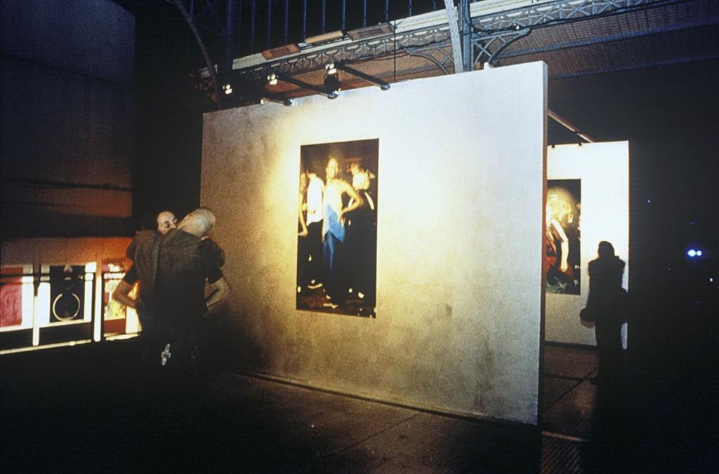 Vue de l'exposition de Caroline Hayeur, la Grande Halle de la Villette.