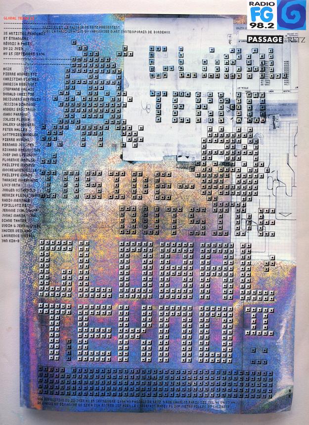 Création M/M Paris - affiche : 1er prix du festival de Chaumont 1996