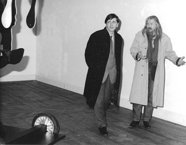 Olivier Mosset et Yves Aupetitallot, Lausanne, 2003