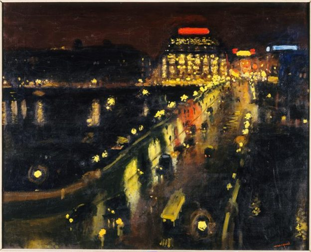 Source RMNGP : http://art.rmngp.fr/fr/library/artworks/albert-marquet_le-pont-neuf-la-nuit_huile-sur-toile