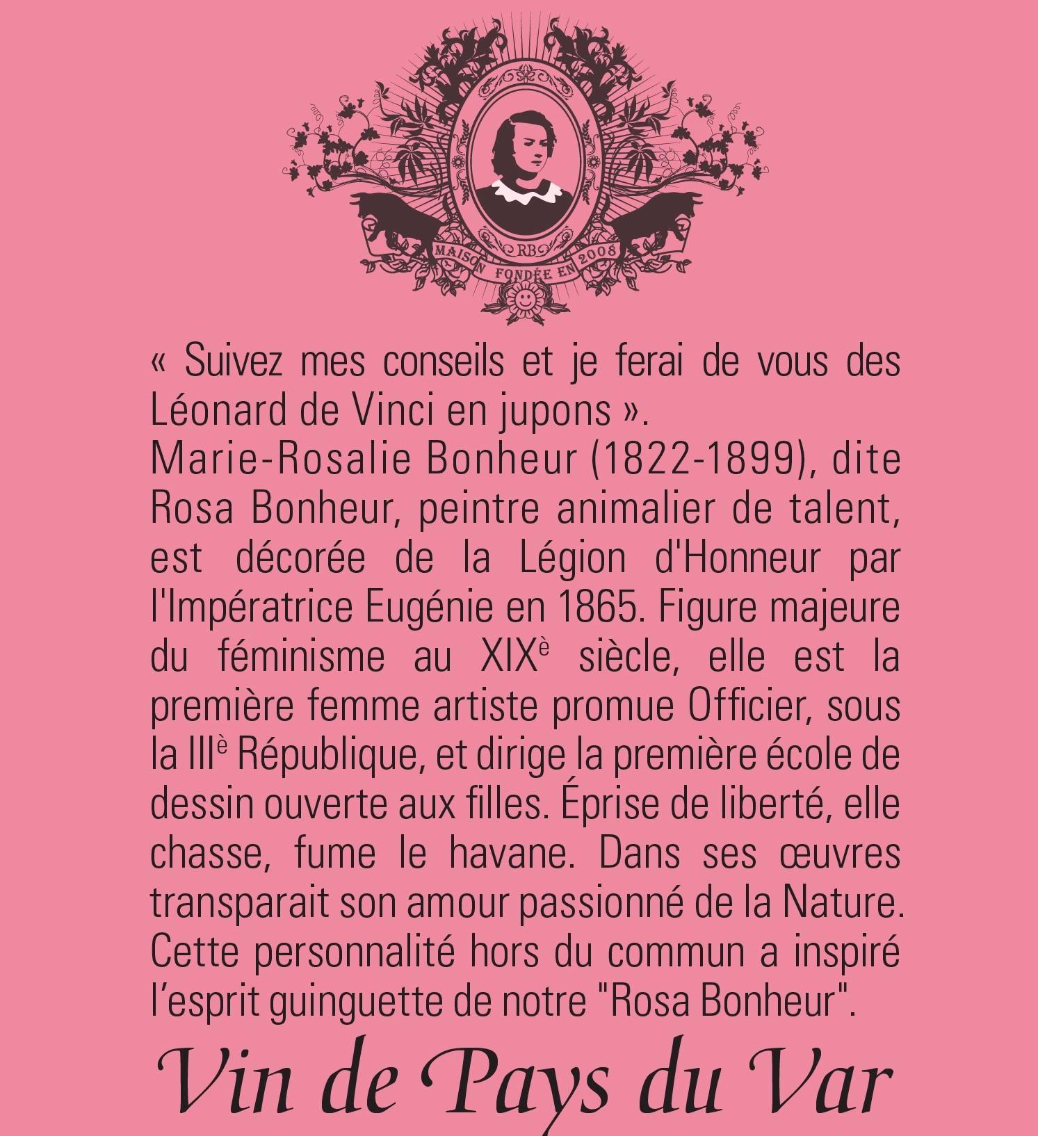 Cuvée Rosa Bonheur